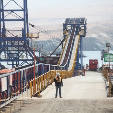 Arequipa: reanudaron trabajos de modernización de puerto Matarani
