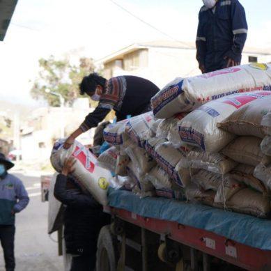 Chumbivilcas: Hudbay Perú entrega más de 59.000 kilos de alimentos