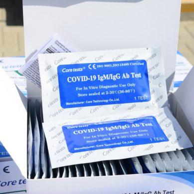 Centro de salud de Talara recibe donación de 5.000 kits de pruebas rápidas de Petroperú