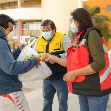 Moquegua: Anglo American dona víveres para transportistas urbanos y taxistas