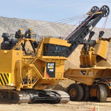 Así armó Ferreyros esta pala Cat 7495 para una mina en el sur del Perú