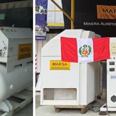 Minera Aurífera Retamas entregará planta de oxígeno al Ministerio de Salud