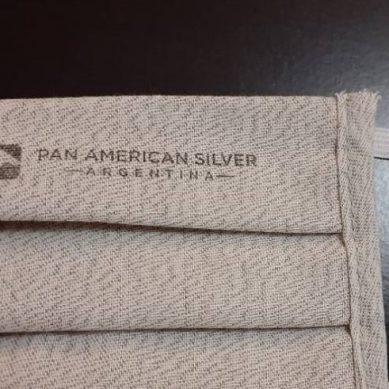 Pan American Silver y empresa textil crean mascarilla con fibra de plata