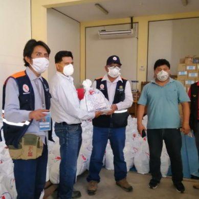 Ilo: Petroperú entrega más de 800 canastas de alimentos para población vulnerable