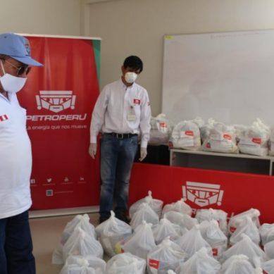 Talara: Petroperú solicita a municipio esclarecer reparto de paquetes de alimentos