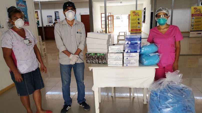 Petrolera Savia Perú hace donativos para apoyar a distritos piuranos