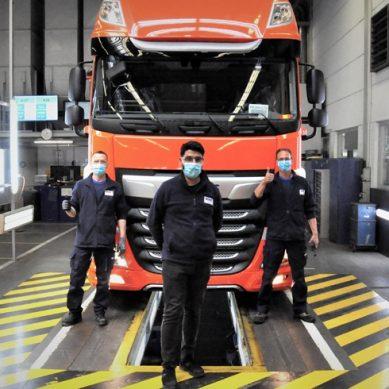 Fábricas de Iveco y DAF reinician producción