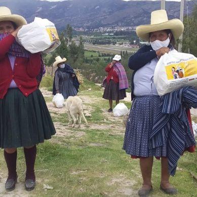 Cajamarca: Yanacocha culmina entrega de canastas para 11.730 familias necesitadas