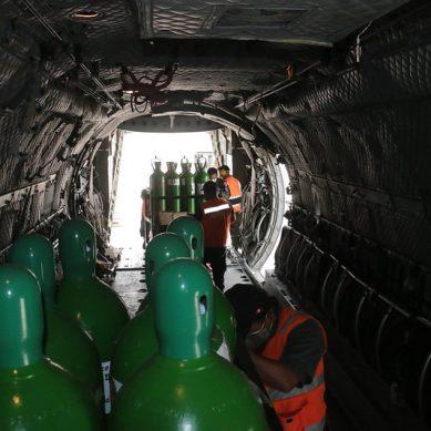 Piura: PCM, SNMPE y minera Antapaccay gestionan entrega de 50 balones de oxígeno