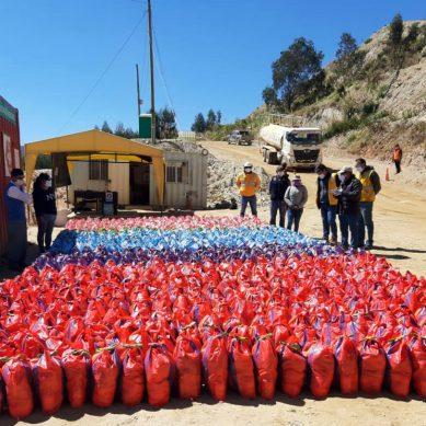 Huamachuco: Summa Gold dona víveres para más de 2.300 familias