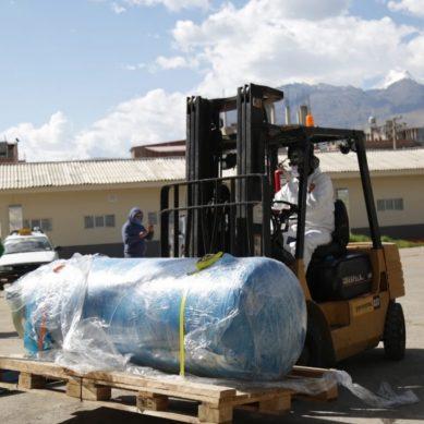 Antamina entrega planta de oxígeno medicinal al Hospital Víctor Ramos Guardia