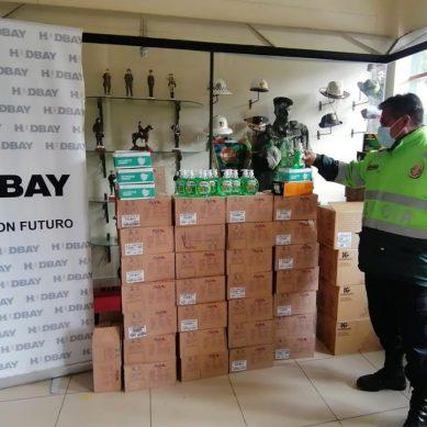 Hudbay Perú dona implementos de bioseguridad para policías de Cusco y Arequipa