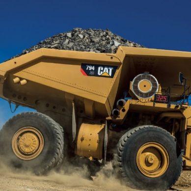 Ferreyros entregó primer camión Cat 794 AC para proyecto Quellaveco