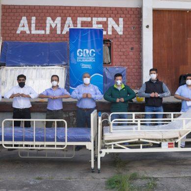 Es su turno: contratistas de Yanacocha entregan primeras 94 camas para hospitales en Cajamarca