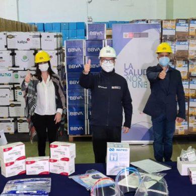 Siemens Energy y Kallpa, entre otras empresas, donan medicamentos y equipos de protección