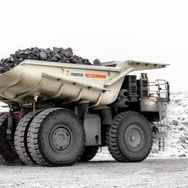 Metso Outotec Truck Body, las tolvas de alta resistencia de acero y caucho