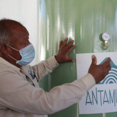 Planta de oxígeno donada por Antamina ya está operando en hospital de Áncash