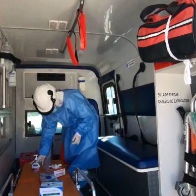 Equipo médico de Antamina de apoyo contra el COVID-19 llega a Valle Fortaleza